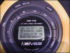 iRiver iMP 700 CD-Player